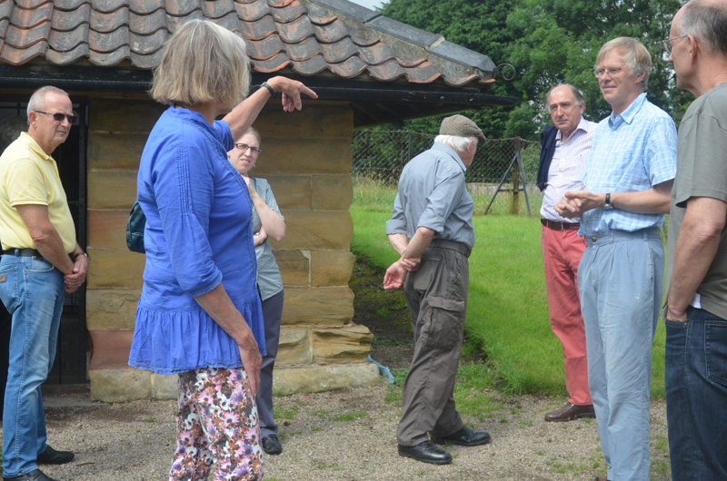 Aldborough Roman site tour