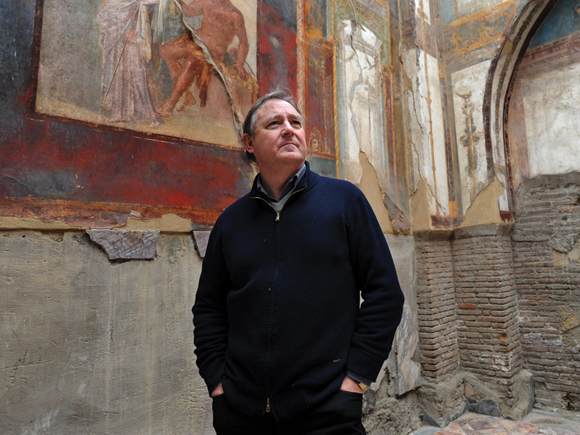 """""""Herculaneum: Why Small Roman Sites Matter"""" Andrew Wallace- Hadrill, Herculaneum Conservation Project - September 2016"""