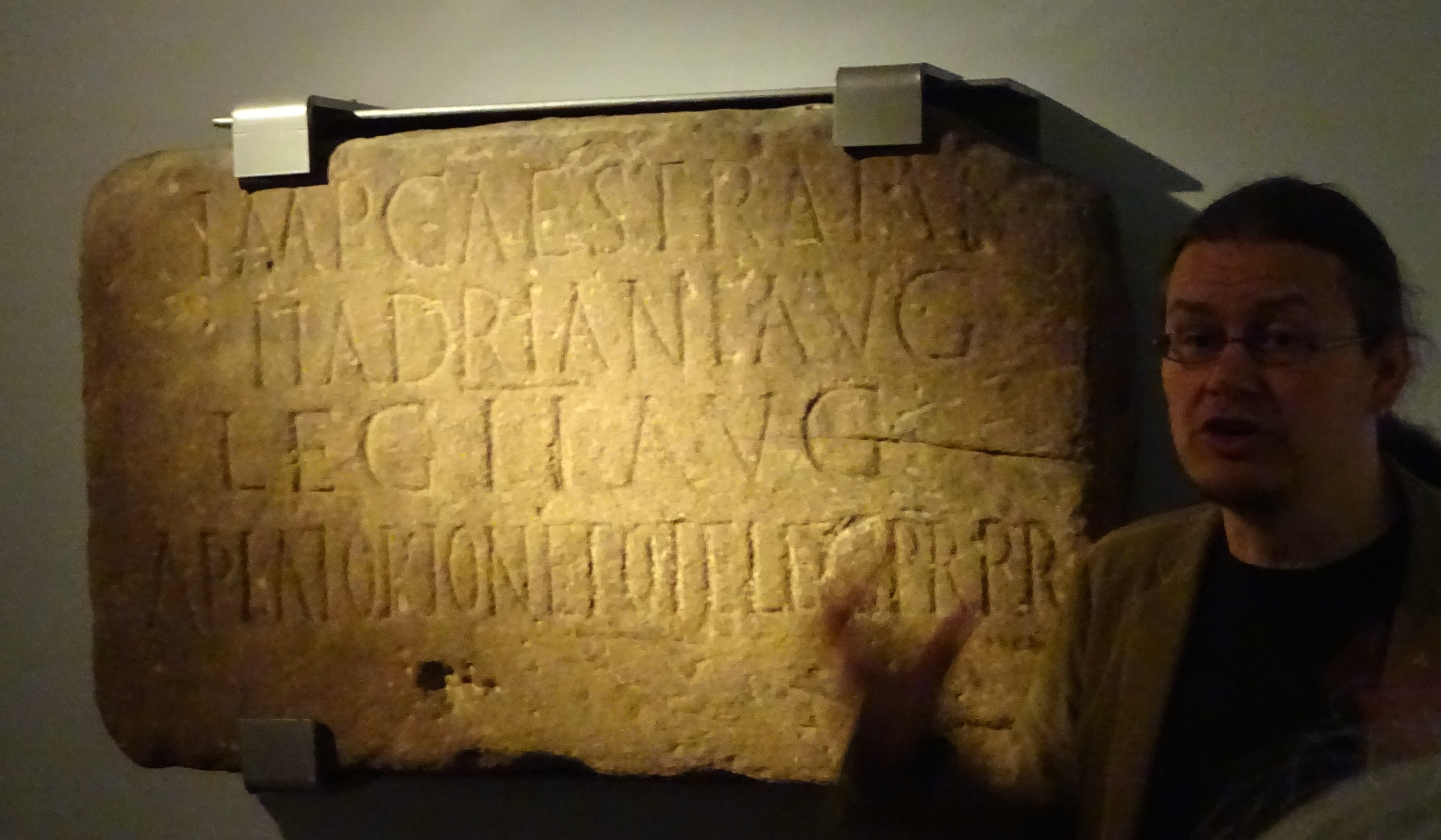 Milecastle 38 Inscription, Great North Museum