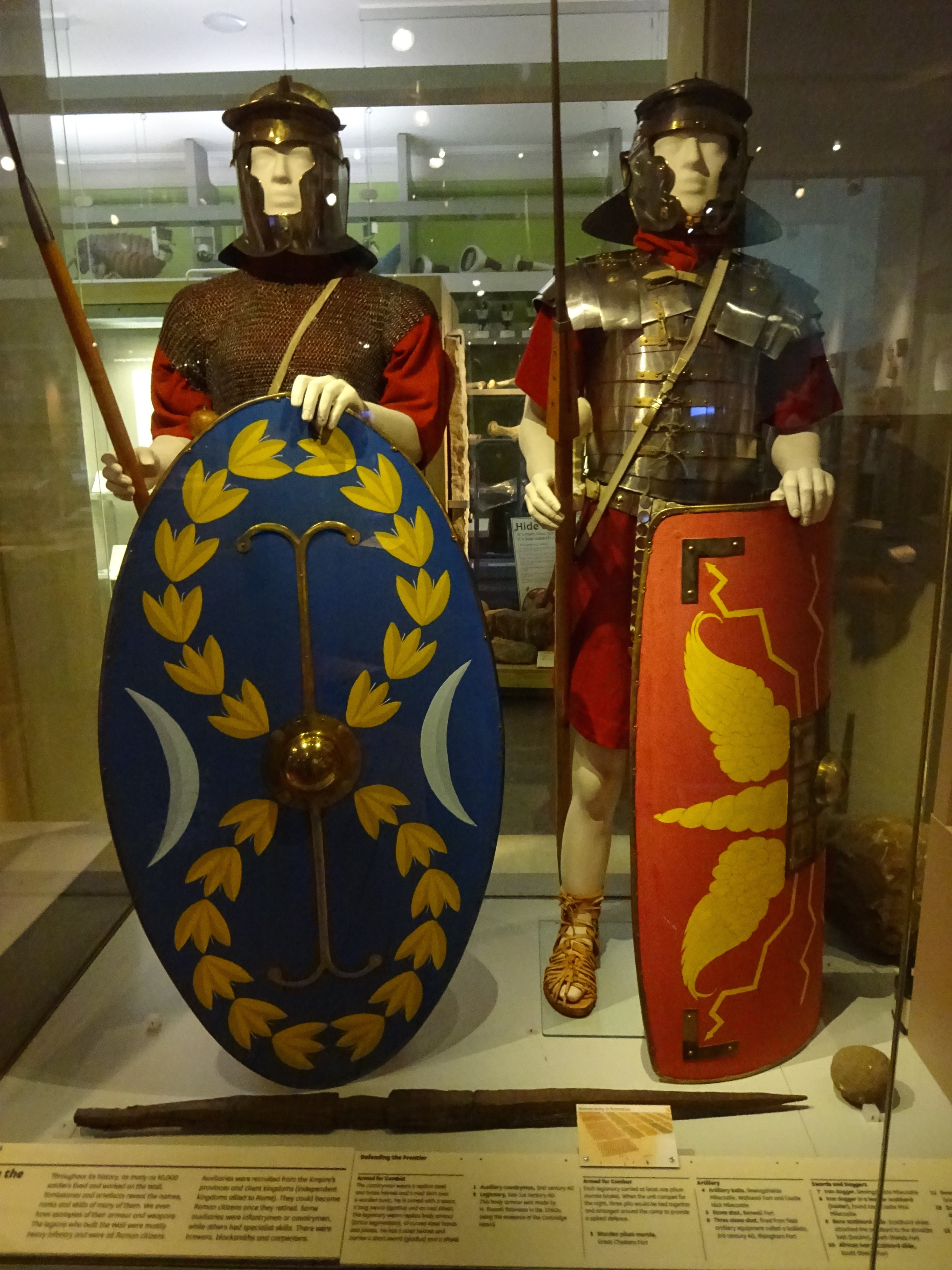 Military armour, Great North Museum