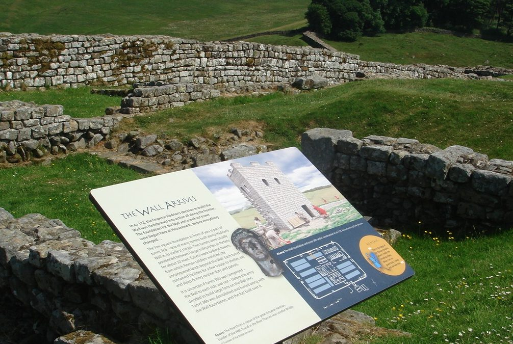 Aldborough Roman Site Interpretation Panels